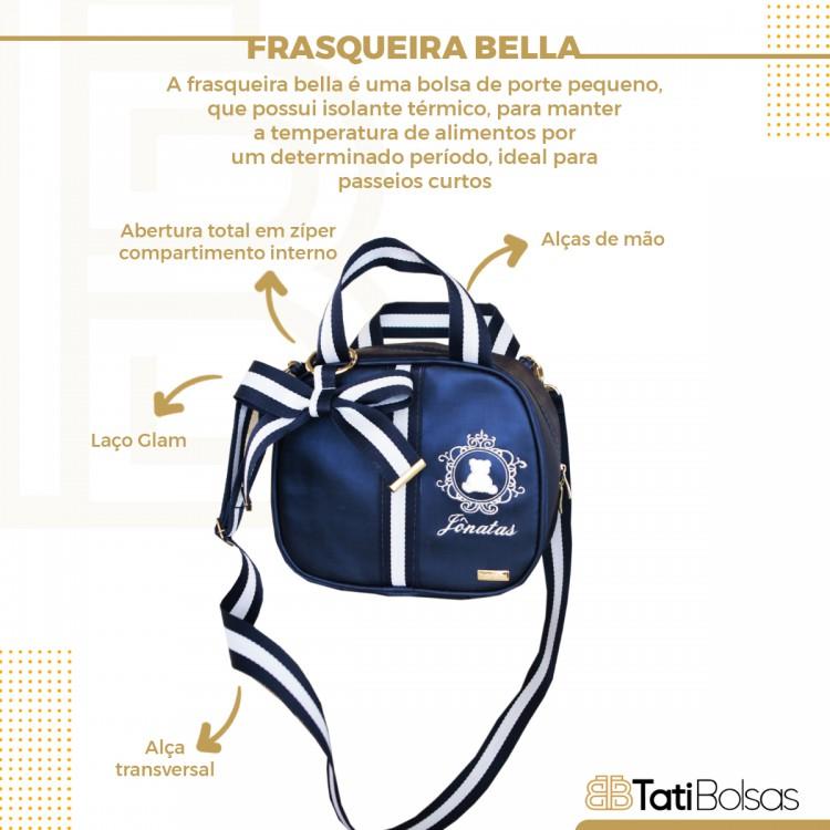 FRASQUEIRA BELLA (AZUL FACTOR COM FITA VERMELHA E AZUL)